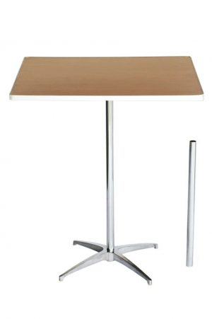 36 inch Square Cocktail Table Kit
