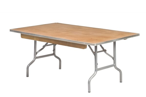 48 x 40 Rectangle Childrens Plywood Table