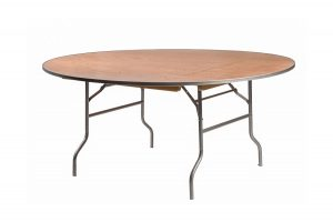 66 Inch Round Heavy Duty Banquet Table