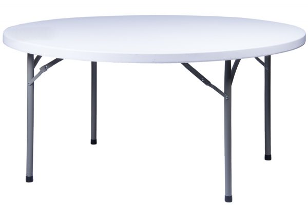 72 inch Round Heavy Duty Plastic Table