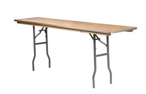 72 x 18 Rectangle Heavy Duty Table