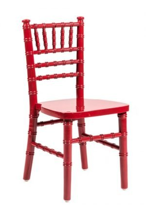 Red Wood Children's Chiavari Chair