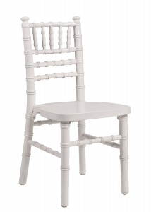 White Wood Children's Chiavari Chair