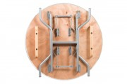 """36"""" Round Heavy Duty Plywood Banquet Table"""