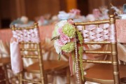 Gold Wood Children's Chiavari Chair 2