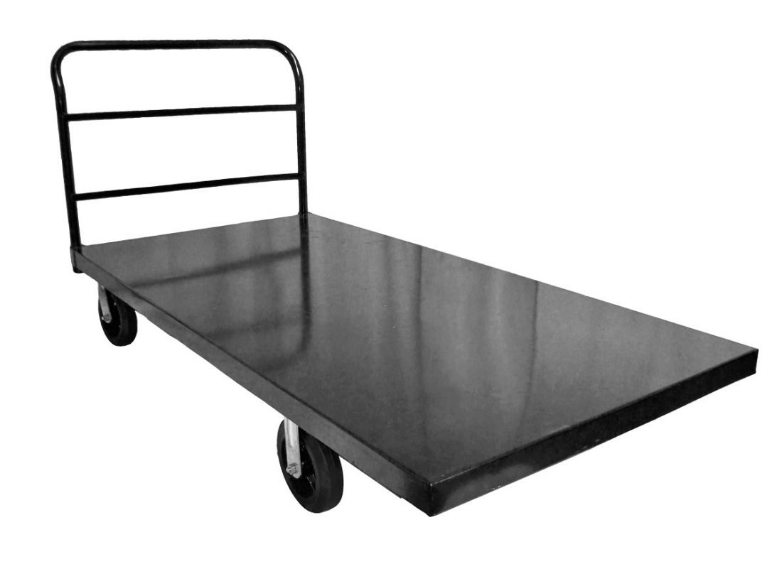 Metal Flat Bed Cart The Chiavari Chair Company