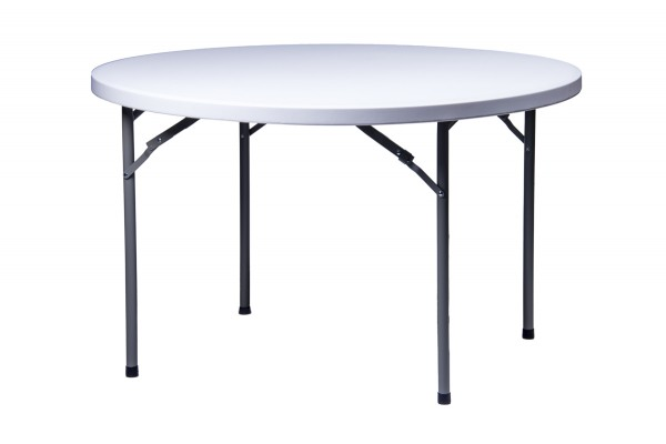 "48"" Round ""Heavy Duty"" Plastic Banquet Table"
