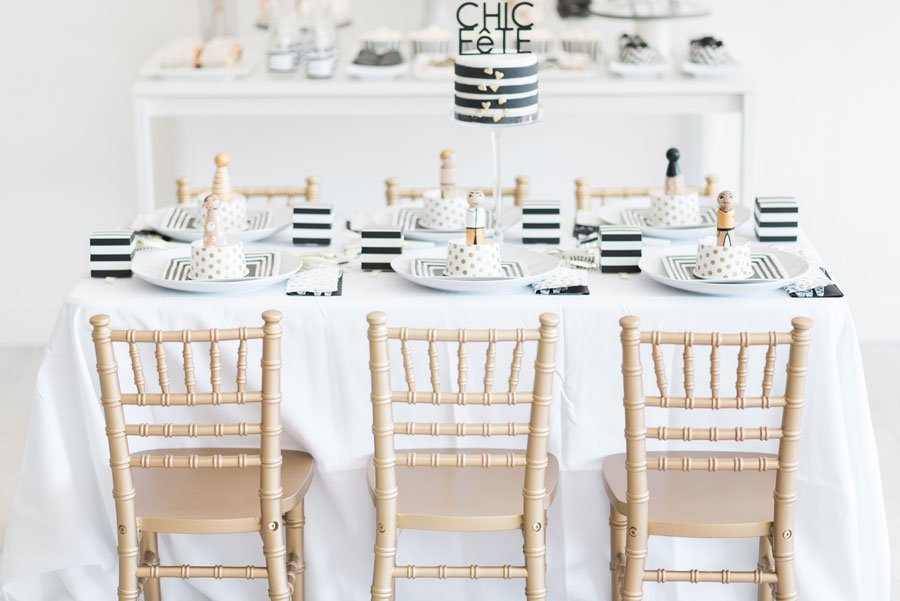 gold wood chiavari chair