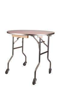 "36"" Round Rolling Cake Table"