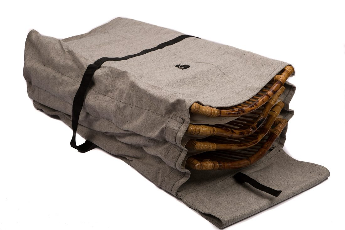 Carrying Amp Storage Bag For Bamboo Folding Chairs