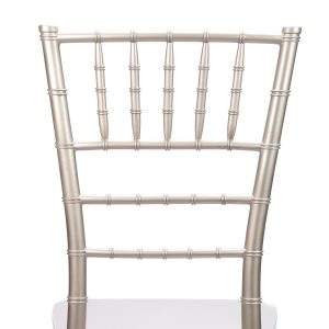 "Champagne Resin ""Inner Steel-Core"" Stacking Chiavari Chair"