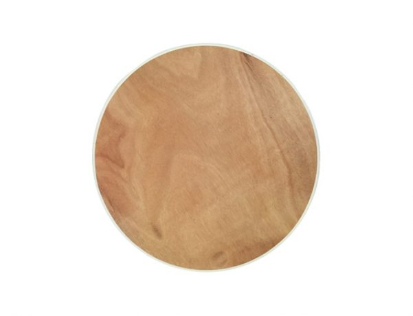24 Inch Round Plywood Cocktail Table Top
