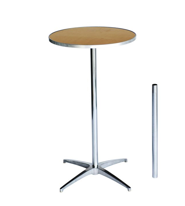 Round Plywood Cocktail Table Kit The Chiavari Chair Company - 24 inch round cocktail table