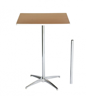 30 Inch Square Cocktail Table Kit