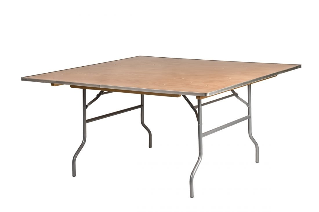 Heavy Duty Plywood : Quot square heavy duty plywood banquet table with free