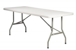 72 x 30 Rectangle Plastic Table