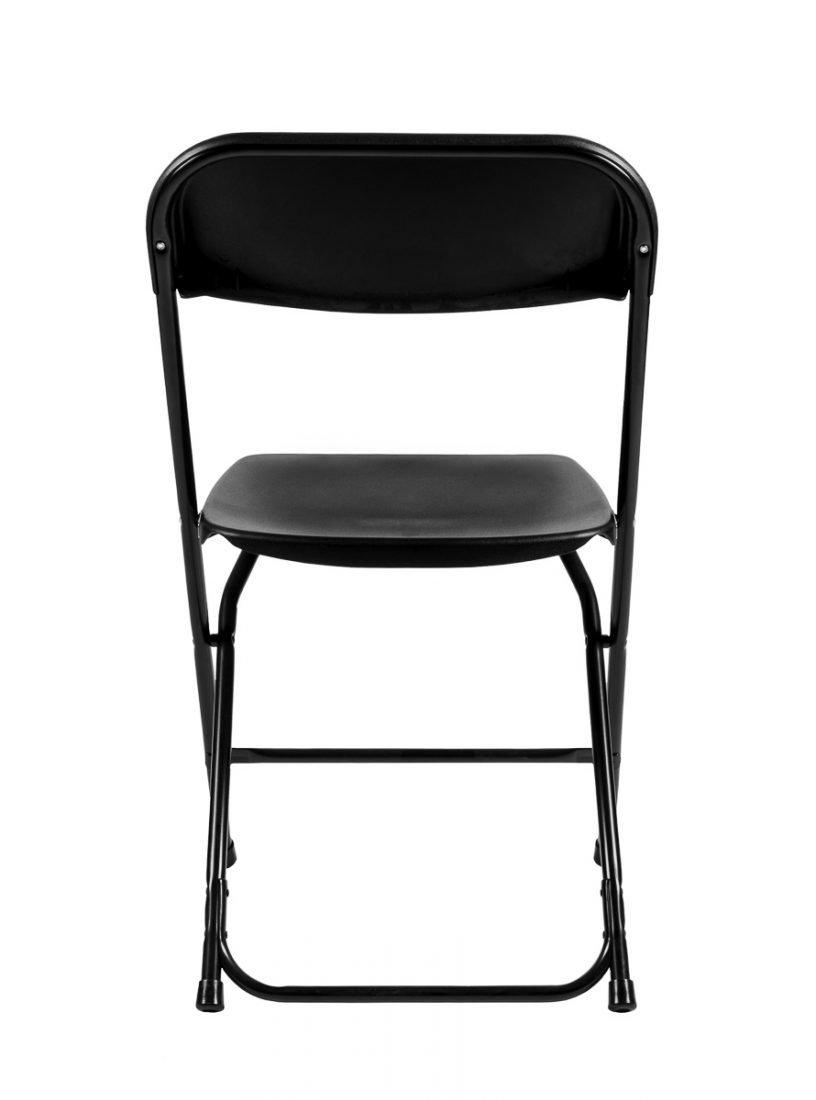 Samson Series Black Folding Chair Back