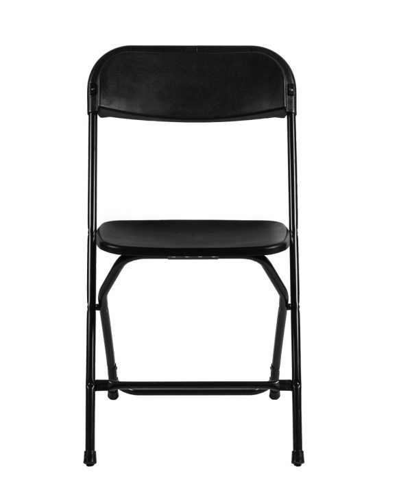 Samson Series Black Folding Chair Front