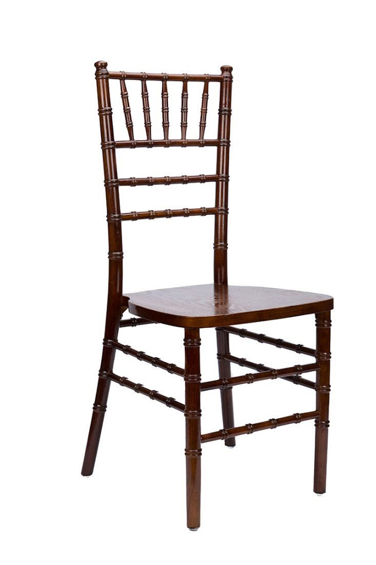 Fruitwood Medium Wood Stacking Chiavari Chair The Chiavari Chair pany