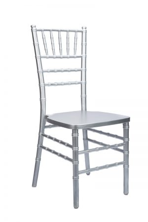 Silver Wood Chiavari Chair