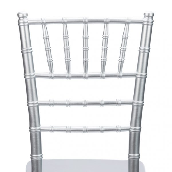 Silver Chiavari Chair Back