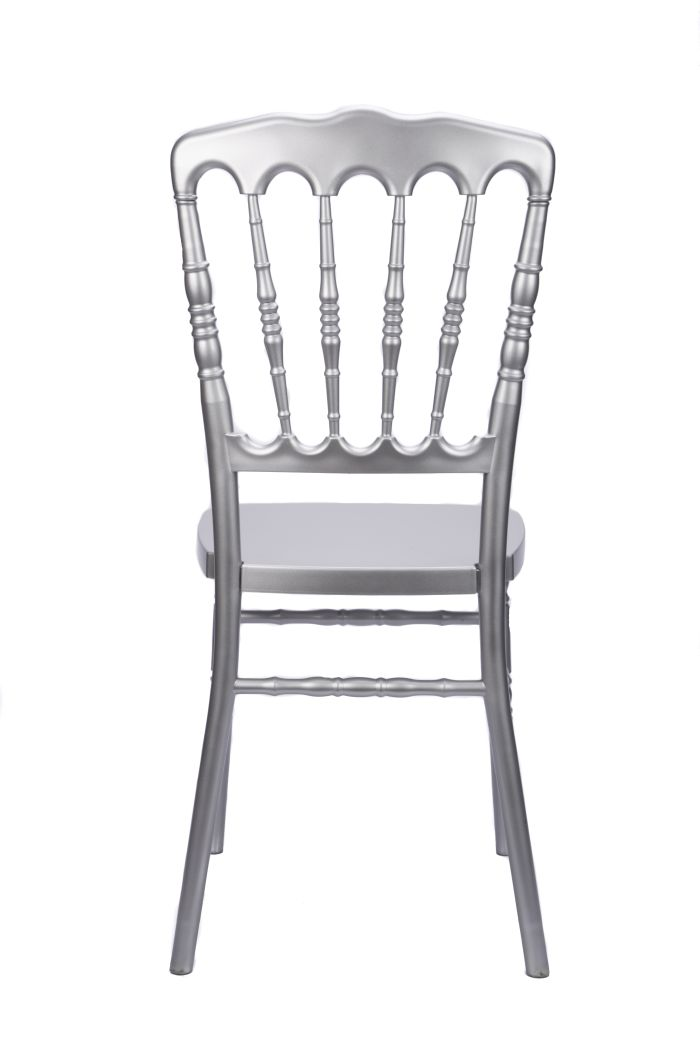 Bon Silver Resin Steel Core Napoleon Chair Back