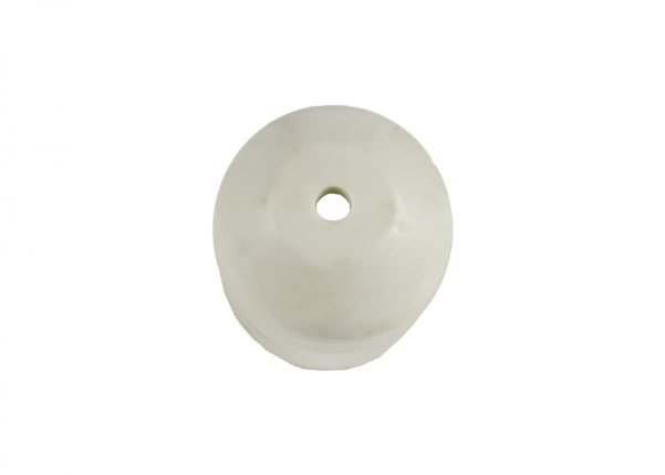 Ivory Replacement Foot Cap for Plastic Folding Chairs