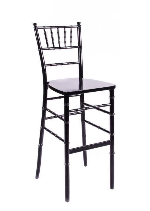 Black Wood Chiavari Barstool
