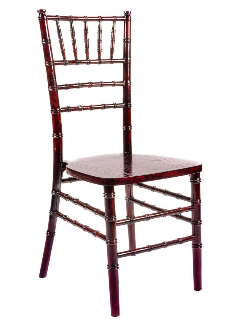 mahogany wood stacking chiavari chair the chiavari chair