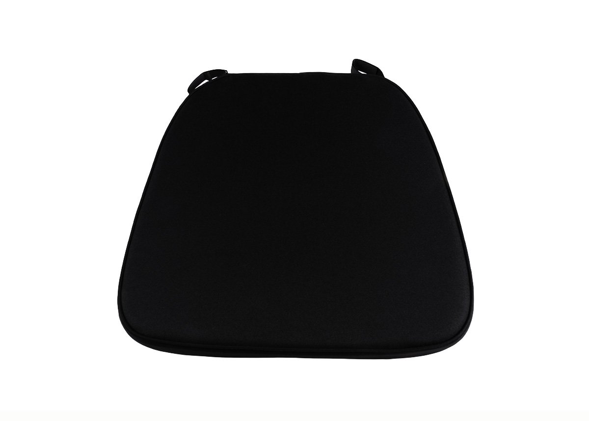 Black Extra Thick Chiavari Chair Cushion Chiavari Chairs