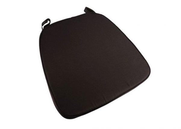"""2"""" Brown """"High Density"""" Velcro Strap Chiavari Chair Cushion"""
