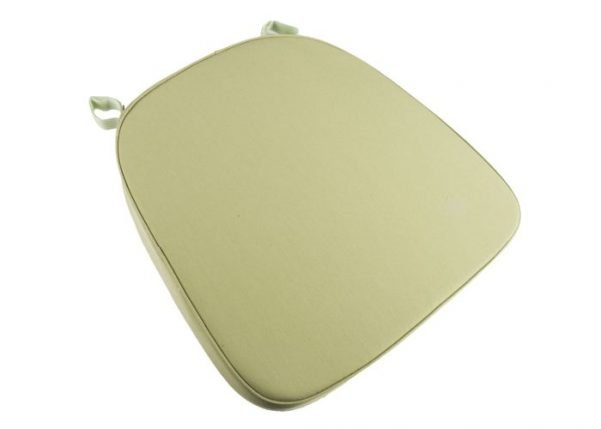 "2"" Green ""High Desnity"" Velcro Strap Chiavari Chair Cushion"