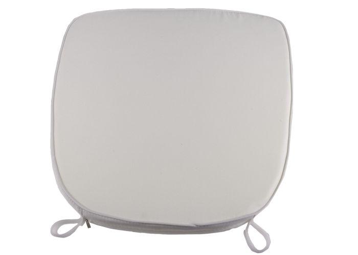 White Extra Thick Chiavari Chair Cushion Chiavari Chairs