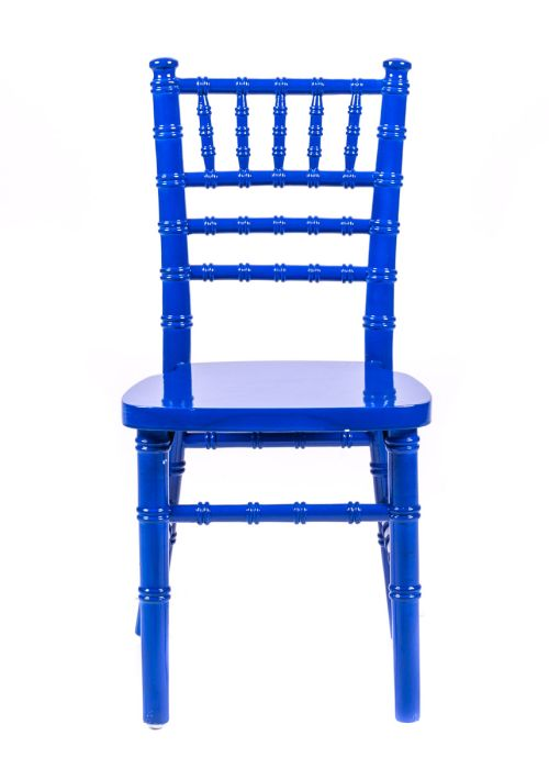 Blue Wood Children's Chiavari Chair