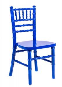 Blue Wood Children's Chiavari Chair