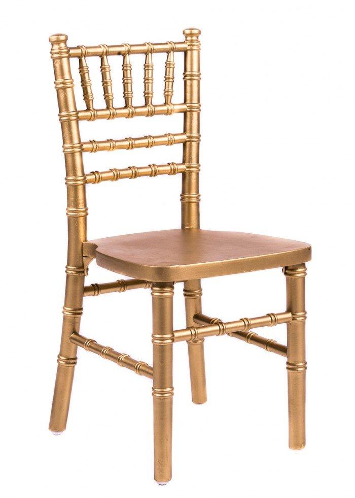 Gold Wood Children's Chiavari Chair