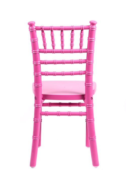 Pink Wood Children's Chiavari Chair