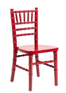 Red Wood Children's Chiavari Chair