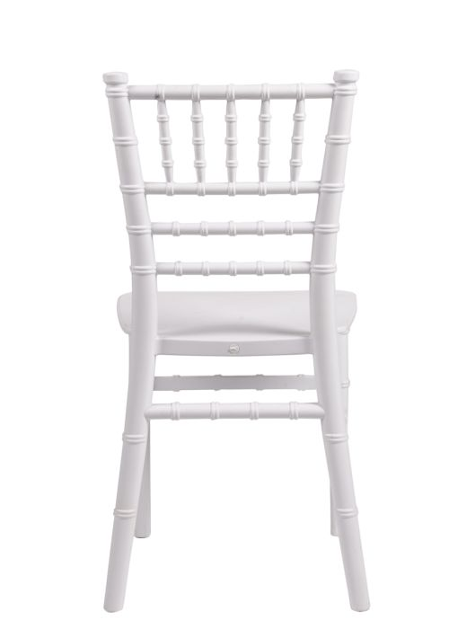 White Resin Children's Chiavari Chair