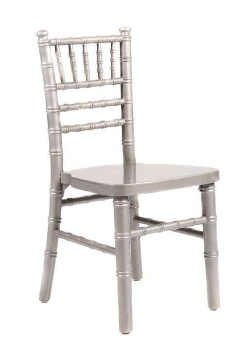 Silver Wood Children's Chiavari Chair