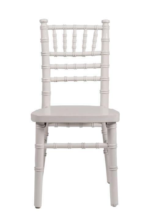 White Wood Children's Chiavari Chair