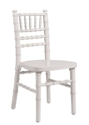 White Wood Childrenu0027s Chiavari Chair