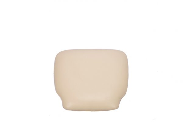Ivory Vinyl Cushion Top