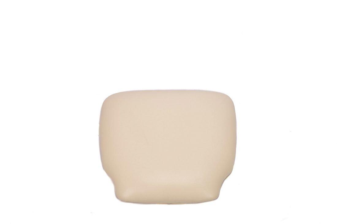 Ivory Vinyl Cushion Top