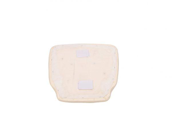 Ivory Vinyl Cushion Bottom