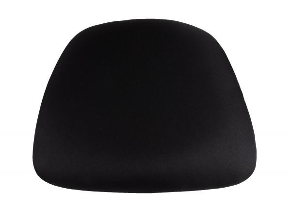 Black Fabric Wood Base Chiavari Chair Cushion