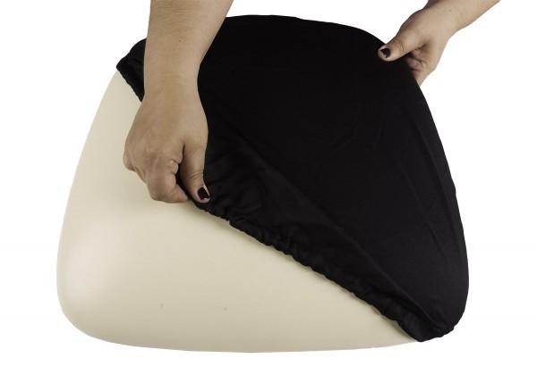 Black Wood Base Cushion Cover