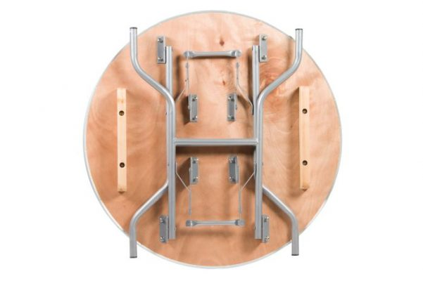 "36"" Round Heavy Duty Plywood Banquet Table"