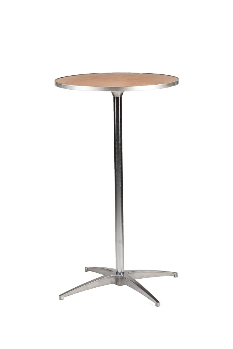 24 round plywood cocktail table top the chiavari chair Round cocktail table