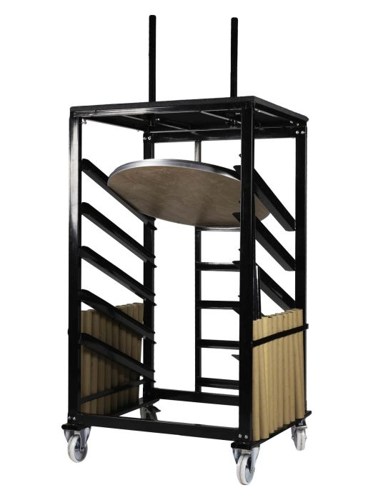 "Steel Cocktail Table Cart for 36"" Tables"